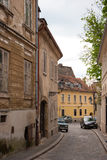 City view of houses in Old Town. ZAGREB, CROATIA - April 12, 2014 - City view of houses in Old Town, Zagreb, Croatia Stock Photography