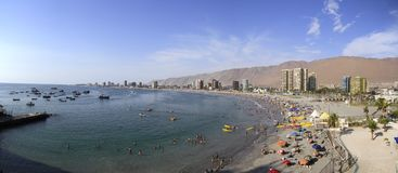 City view of Iquique, Chile Royalty Free Stock Image