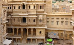 City view of Jaisalmer Stock Photography