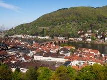 City view from the Königstuhl Stock Photos