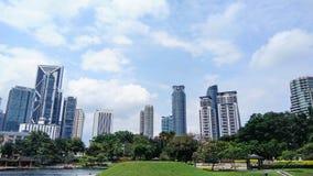 City view. In Kuala Lumpur, Malaysia Royalty Free Stock Image