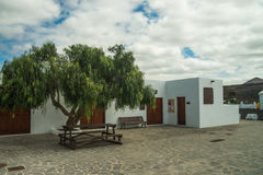 City view at Lanzarote Royalty Free Stock Photos