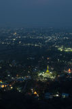 City view from mandalay hill Royalty Free Stock Image