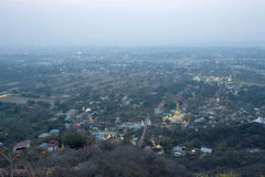 City view from mandalay hill Royalty Free Stock Photography
