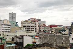 City view of Manila, Philippines Royalty Free Stock Photography