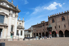 City view of Mantua, Italy Stock Image