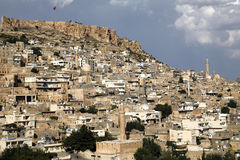 City view from Mardin Royalty Free Stock Image