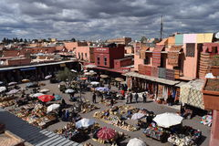 City view of Marrakech Stock Images
