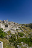 City view of matera Royalty Free Stock Images