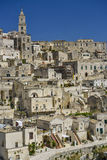 City view of matera Royalty Free Stock Image