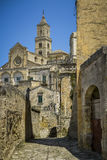 City view of matera Royalty Free Stock Photos