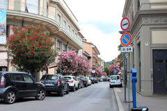 City view of Montecatini Terme Royalty Free Stock Image