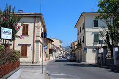 City view of Montecatini Terme Royalty Free Stock Photo