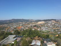 City View at the Mountain Stock Images