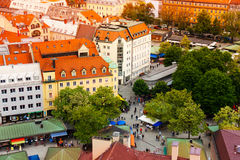 City view of Munich, Bavaria, Germany Stock Image