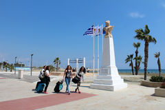 City View Of Larnaca, Cyprus Royalty Free Stock Photography