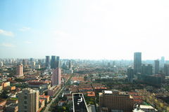 City View Of Shanghai Stock Photo