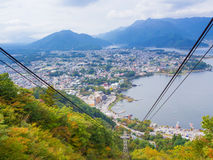 City view point from Kachi Kachi ropeway Stock Photography