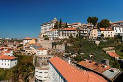 City view at Porto. Portugal royalty free stock images