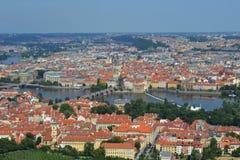 City view Prague Stock Photography