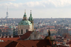 City view of Prague Stock Image