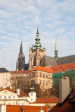 City view of Prague, the capital of the Czech Republic, View of Royalty Free Stock Photo