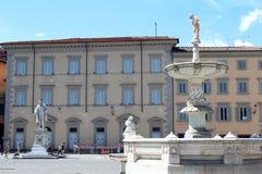 City view of Prato, Italy Stock Image