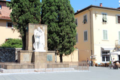 City view of Prato, Italy Royalty Free Stock Image