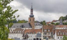 Saarbruecken in the Saarland Stock Photo