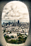 City view of San Francisco Royalty Free Stock Image