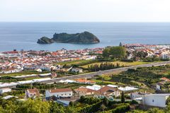 City view by the sea - Portugal royalty free stock photography