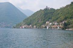 City view of Sensole of Monteisola. Italy Royalty Free Stock Photos