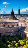 City View Seville Cathedral Spain Stock Photography