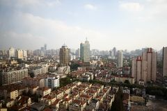 City view of Shanghai Stock Photography