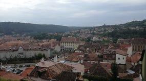 City view of Sighisoara royalty free stock image