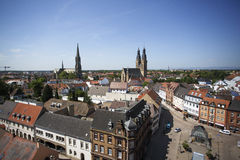 City View of Speyer Stock Images