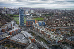 City view from Spinnaker Tower Royalty Free Stock Photography