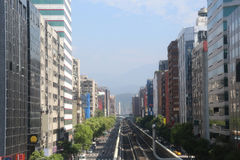 City view of Taipei Royalty Free Stock Photo