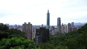 City of Taipei, Taiwan. City view of Taipei, Taiwan stock footage