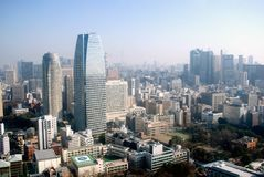 City view, Tokyo, Japan Royalty Free Stock Photos