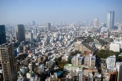City view, Tokyo, Japan Royalty Free Stock Images