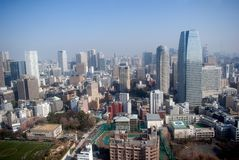 City view, Tokyo, Japan stock photo