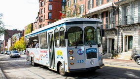 City View Trolley, Boston, MA. Stock Photo