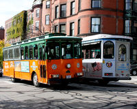 City View Trolley, Boston, MA. Stock Photography
