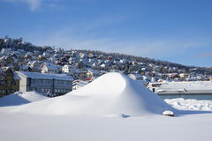 City View of Tromso Royalty Free Stock Photography