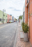 City view of Valladolid old town. Royalty Free Stock Images