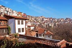 City view Veliko Turnovo stock photos