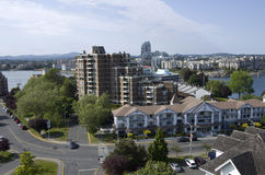City view of Victoria BC Stock Images