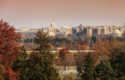 City View of Washington, DC Landmarks Stock Photos