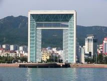 City view of weihai. ,china Stock Photography